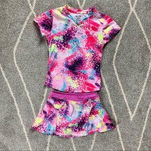 Champion Duodry Hot Pink Tennis Skirt Set 4-5
